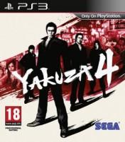 Cover Yakuza 4