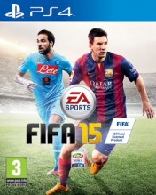 Cover FIFA 15 (PS4)