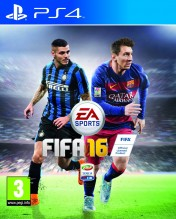 Cover FIFA 16 (PS4)