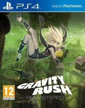 Cover Gravity Rush Remastered (PS4)