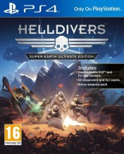 Cover Helldivers (PS4)