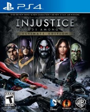 Cover Injustice: Gods Among Us - Ultimate Edition (PS4)