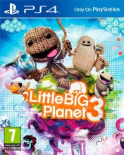 Cover LittleBigPlanet 3 (PS4)