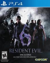 Cover Resident Evil 6 (PS4)