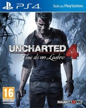 Cover Uncharted 4: Fine di un Ladro (PS4)