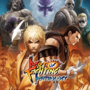 Cover Art of Fighting Anthology