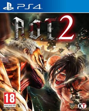 Cover Attack on Titan 2 (PS4)