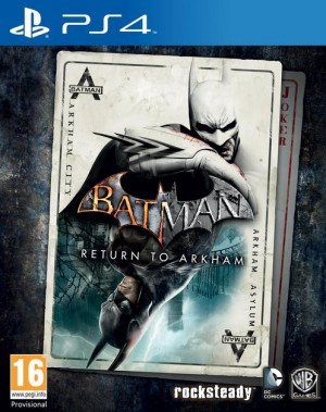 Cover Batman: Return to Arkham