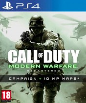 Cover Call of Duty: Modern Warfare Remastered (PS4)