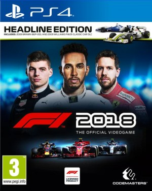 Cover F1 2018 (PS4)