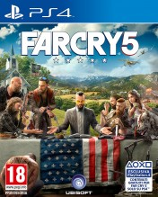 Cover Far Cry 5 (PS4)