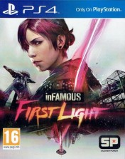 Cover inFamous: First Light