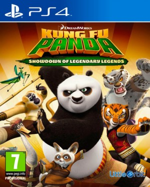Cover Kung Fu Panda: Showdown of Legendary Legends (PS4)