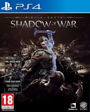 Cover Middle-earth: Shadow of War (PS4)