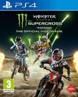 Cover Monster Energy Supercross: The Official Videogame