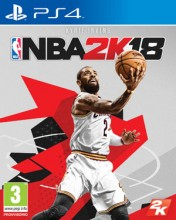 Cover NBA 2K18 (PS4)