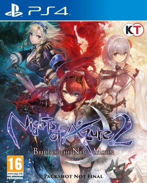 Cover Nights of Azure 2: Bride of the New Moon