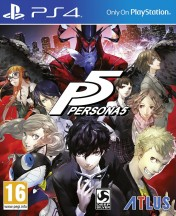 Cover Persona 5 (PS4)