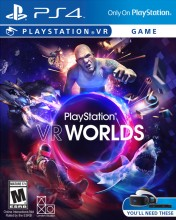 Cover PlayStation VR WORLDS