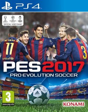 Cover Pro Evolution Soccer 2017 (PS4)