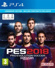 Cover Pro Evolution Soccer 2018 (PS4)