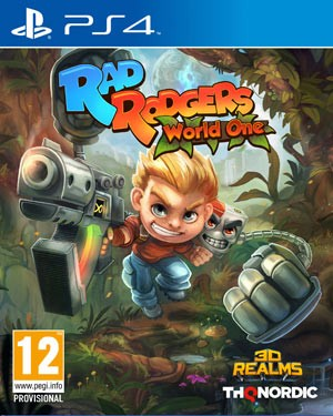 Cover Rad Rodgers: World One (PS4)