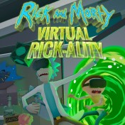 Cover Rick And Morty Virtual Rick-ality (PS4)