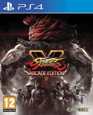 Cover Street Fighter V: Arcade Edition