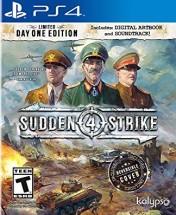 Cover Sudden Strike 4 (PS4)