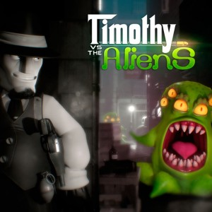 Cover Timothy vs. the Aliens