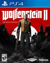 Cover Wolfenstein II: The New Colossus (PS4)