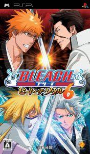 Cover Bleach: Heat the Soul 6 (PSP)