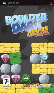 Cover Boulder Dash: ROCKS! (PSP)