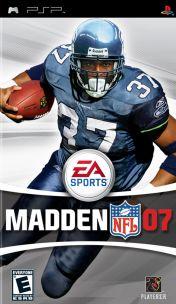 Cover Madden NFL 07