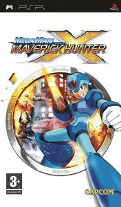 Cover Mega Man Maverick Hunter X (PSP)