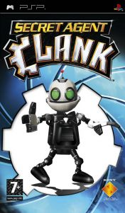 Cover Secret Agent Clank