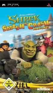 Cover Shrek Smash n' Crash Racing