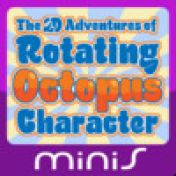 Cover The 2D Adventures of Rotating Octopus Character