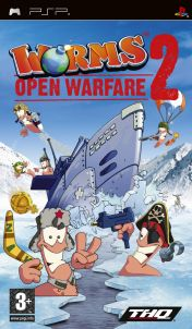 Cover Worms: Open Warfare 2 (PSP)