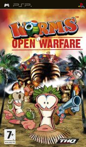 Cover Worms: Open Warfare (PSP)