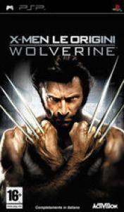 Cover X-Men Le Origini: Wolverine (PSP)