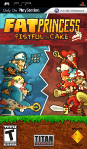 Cover Fat Princess Fistful Of Cake (PSP)