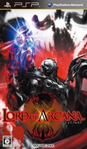 Cover Lord of Arcana (PSP)