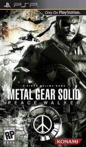 Cover Metal Gear Solid: Peace Walker (PSP)