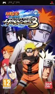 Cover Naruto Shippuden: Ultimate Ninja Heroes 3 (PSP)