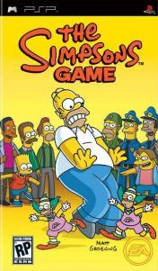 Cover The Simpsons Game