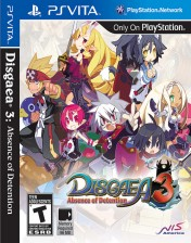 Cover Disgaea 3: Absence of Detention (PS Vita)