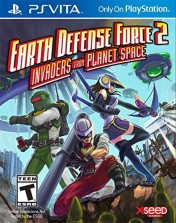 Cover Earth Defense Force 2: Invaders From Planet Space