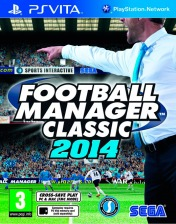 Cover Football Manager Classic 2014 (PS Vita)