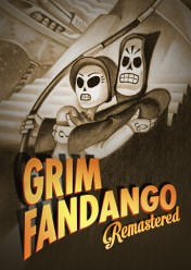 Cover Grim Fandango Remastered (PS Vita)